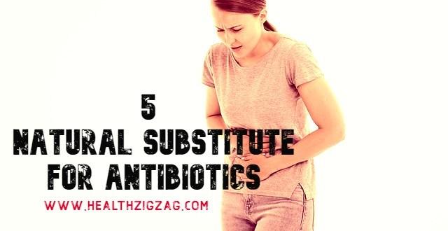 natural substitute for antibiotics