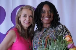 Liza Boubari and Marie Mbouni