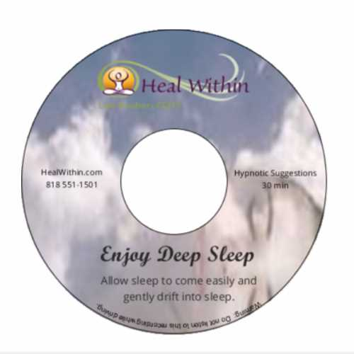 Enjoy Deep Sleep