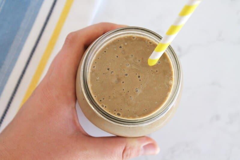 Chocolate Banana Healthy Smoothie Recipe
