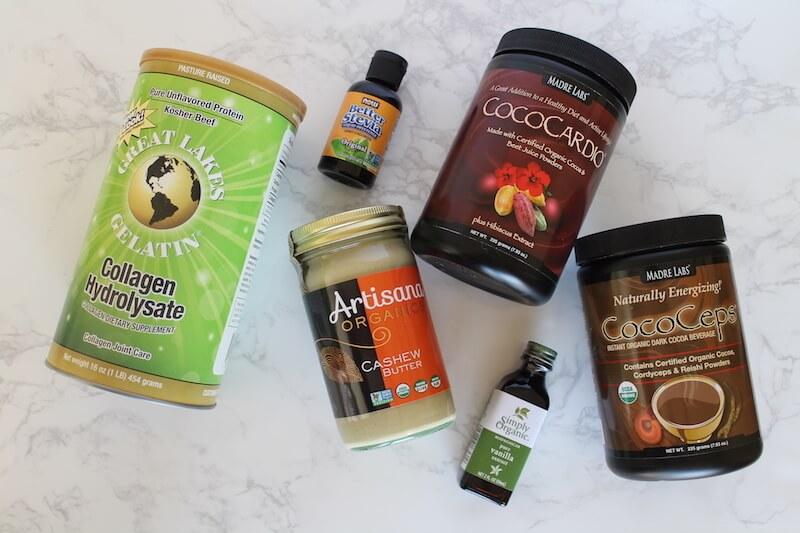 Healthy Smoothies Ingredients