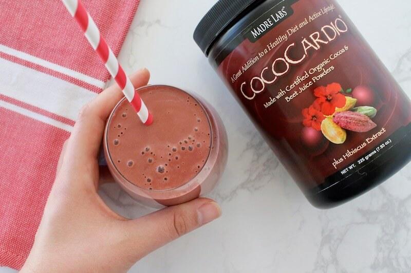 Red Velvet healthy smoothie recipe 2