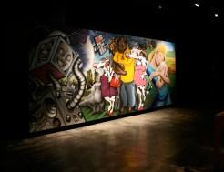 LP - 1 Mural in the blackbox gallery