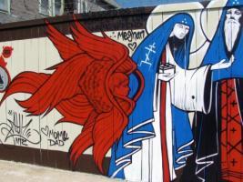 St. Johanna The Myrrh Bearer & Seraphim Angel