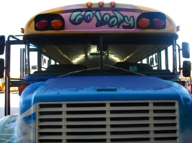 Bus - Front (Go Loopy Letters by Charlie)