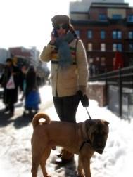 Harlem Girl & Dog