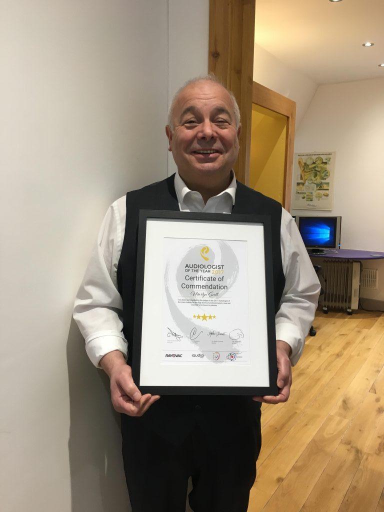 Martyn's award 2017