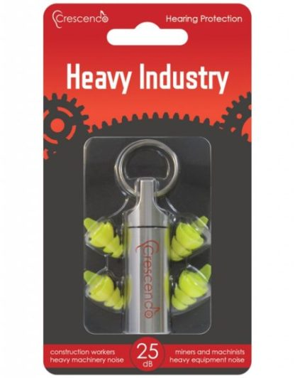 Instant fit filtered earplugs