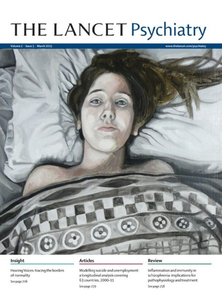 Lancet psychiatry cover image