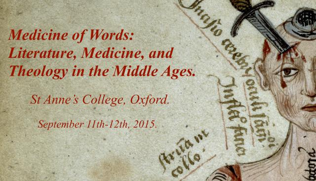 Medicine of Words Oxford conference