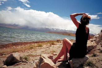 Mt Kailash: Lisa by the lake