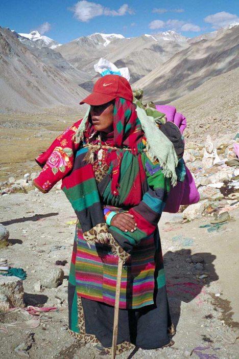 Mt Kailash: Hiker
