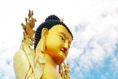 Mt Kailash: Statue face