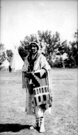 Margaret Yellowtail, 1936, Crow Reservation, MT