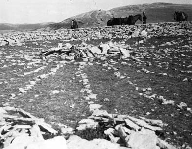 Medicine Wheel, 1932, Big Horn Mountains, WY