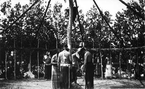Sundance, Black Lodge District, 1951, Crow Reservation, MT