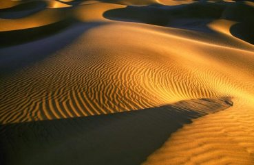 Sand Dunes in Death Valley, California