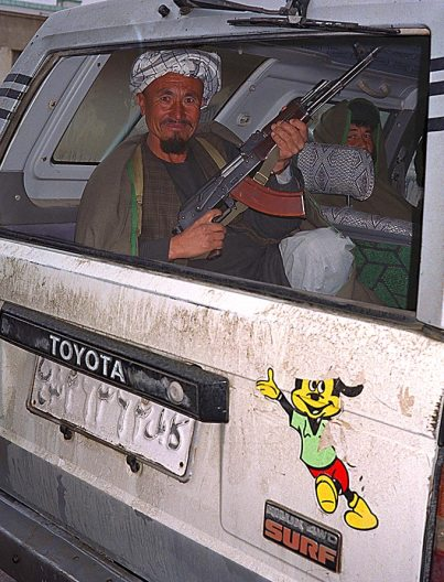 General Dostum's guard in Sherbigan
