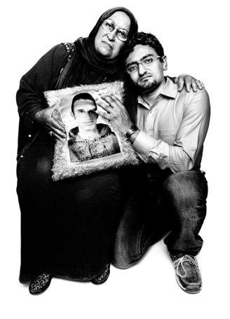 Laila Said with Wael Ghonim