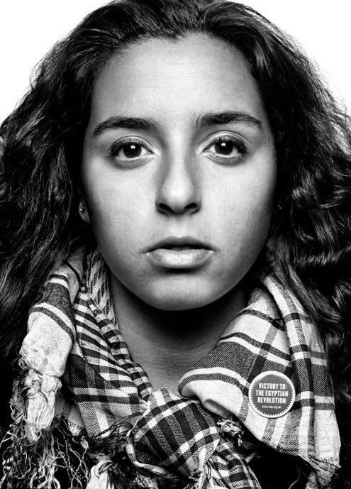 Sarrah Abdel Rahman, 23, social media activist