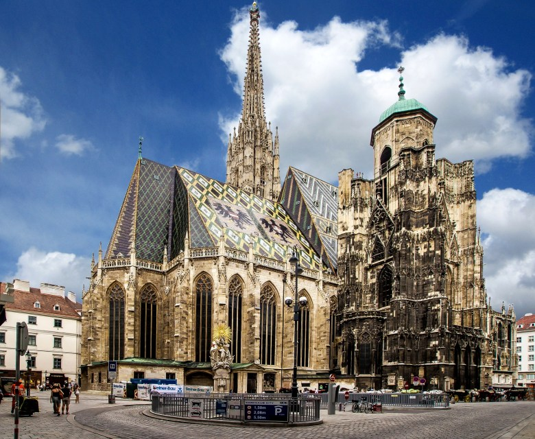 St Stephen Cathedral and the square around it are the beating heart of Vienna