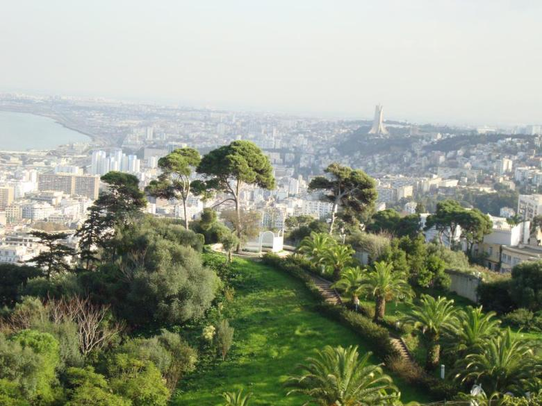 View of Algiers city from Saint Rapahel Balcony