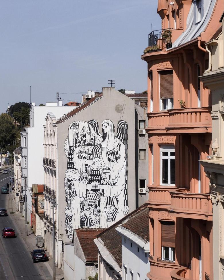 Street Art in Dorcol, Belgrade