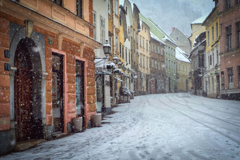 Ljubljana in winters