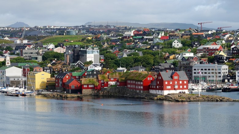 Torshavn, a Nordic city, is home to about one-fourth of the total population of the Faroe Islands