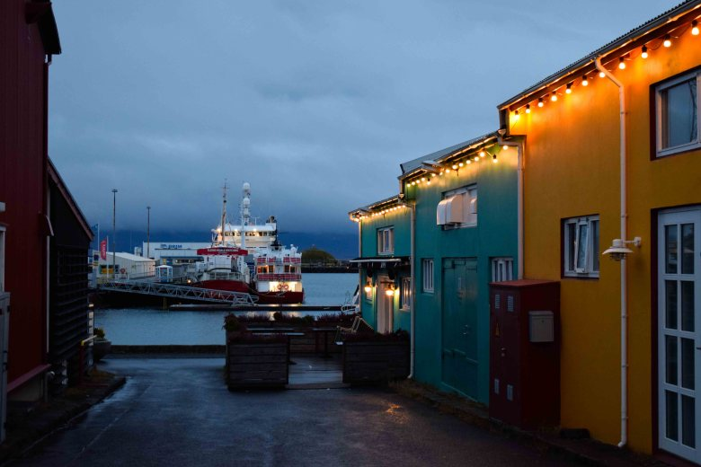 Reykjavík Old Harbour is the main port of departure for tours and lies close to city's popular museums
