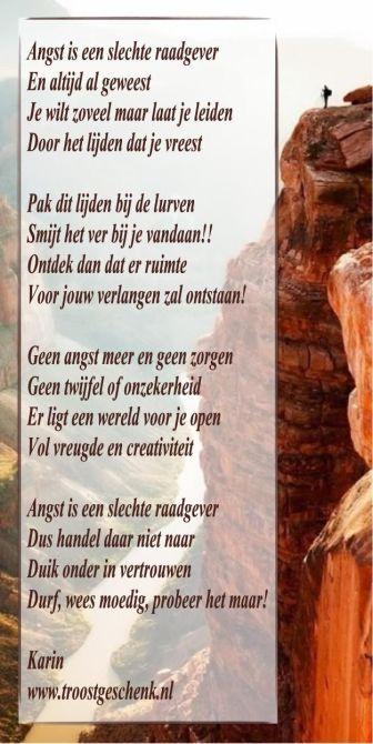 Gedicht Angst