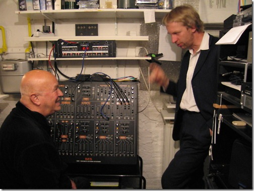 Conrad Schnitzler & friend