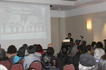 Lecture by Bon Koizumi at The Nippon Club, New York, USA on October 2011.