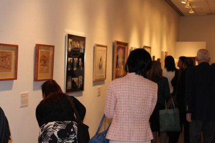 Book and art exhibition at The Nippon Club, New York, USA on October 2011. New York, USA on October 2011.