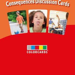 Colorcards - Consequences Discussion Cards