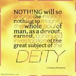 1. The Deity - Spurgeon Photo Quote