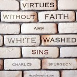 3. Whitewashed Sins - Spurgeon Picture Quote