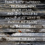 9. Suffered Once -Spurgeon Photo Quote