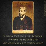 926. Holy Mourn - Charles Spurgeon Rare Picture Quote