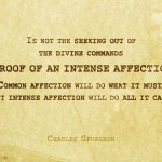 Affection -Spurgeon Photo Quote