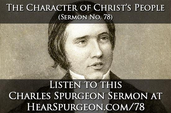 78 character christ's people spurgeon audio sermon mp3