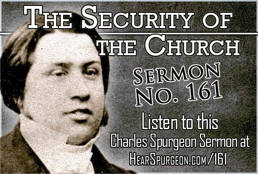 Security Church, sermon 161, spurgeon sermon mp3, psalm 125, church,