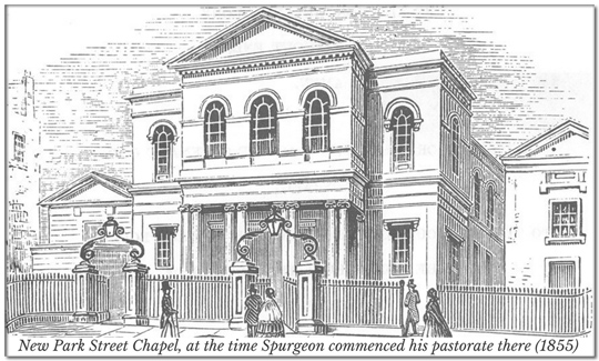 New Park Street Chapel, photo for, sermons audio, page, spurgeon,