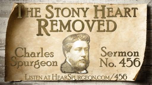 sermon 456, stony heart removed, spurgeon sermon, spurgeon audio, spurgeon regeneration, regeneration, hear spurgeon, you must be born again, Ezekiel 36, spurgeon depravity,