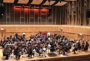 Rehearsal at the Royal Birmingham Conservatoire