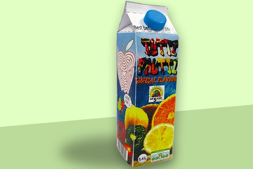 Design student project - drinks carton