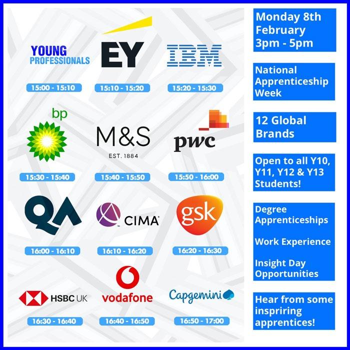 National Apprenticeship Week agenda