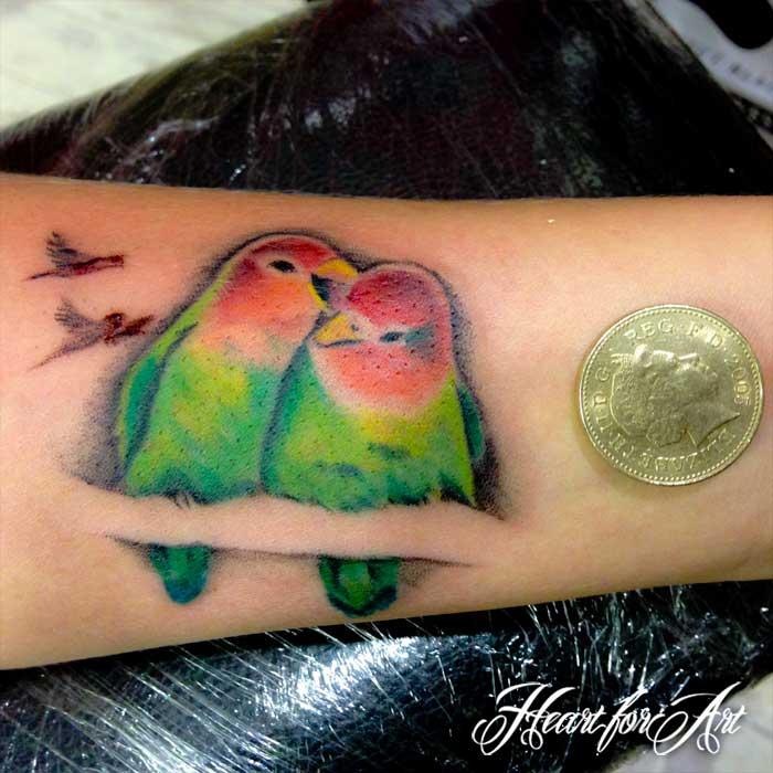 heart art - tattoo manchester