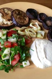 Roasted Veggies with Tahini Sauce: Linking Creativity and Self-Care