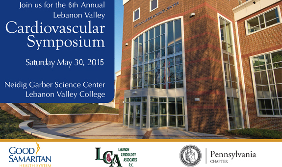 Free Registration for 6th Annual Lebanon Valley Cardiovascular Symposium